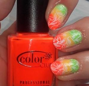 Kolorowy Świat Terii: Wakacyjny Gradient z Udziałem trzech Muszkieterów: Golden Rose, Color Club i China Glaze