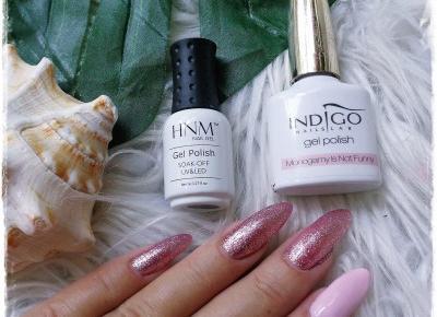 IndigoNails Monogamy Is Not Funny & HMN Pink Everywhere | Kolorowy Świat Terii