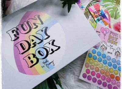 Fun Day Box, Find Your Rainbow, Lipiec 2018 | Kolorowy Świat Terii
