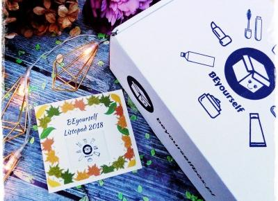 BEyourself, Listopad 2018 - Moje Pierwsze Pudełko Wrażenia | Kolorowy Świat Terii