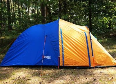 Recenzja namiotu Abarqs Stella 3 | Kierunek świata | blog podróżniczy