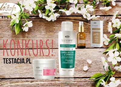 KONKURS! Wygraj zestaw kosmetyków od Lisap Milano! | Testacja