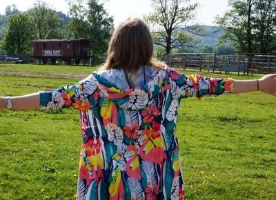 Kolorowa kurtka | Codzienna stylizacja  | Testacja