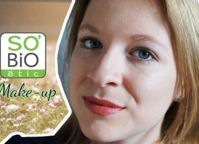 Codzienny makijaż kosmetykami SO BIO | Testacja