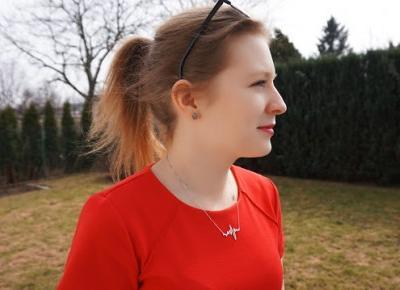 Wiosenna stylizacja | Red dress | Testacja