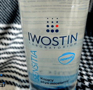 testowaniaczar: IWOSTIN SENSITIA Kojący płyn micelarny