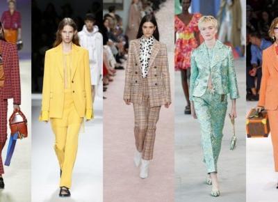 Moda damska - trendy na wiosna lato 2019