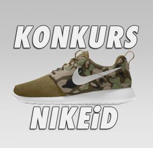 KONKURS NIKEiD - Wygraj zaprojektowane przez siebie Nike Roshe One