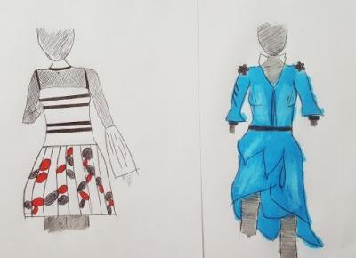 THE NATHALIA: Fashion Project / FP#1