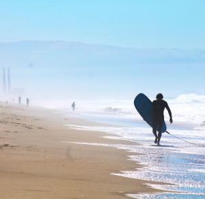 Zapiaszczony obiektyw ale udało się zrobić kilka fotek po surfie