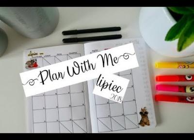 PLAN WITH ME: Lipiec 2018/ Bullet Journal