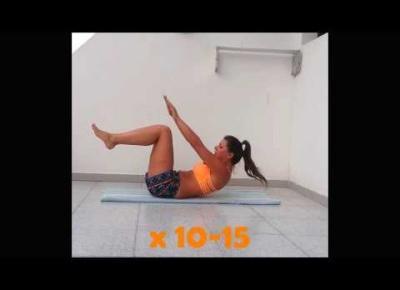 Ćwicz w domu - trening na płaski brzuch