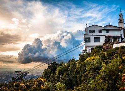Bogota (Kolumbia) - Monserrate, czyli niezwykła góra w środku miasta | z Podróży PL