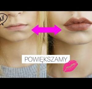 Jak EKSTREMALNIE powiększyć usta | Zamiennik pomadki Kylie Jenner