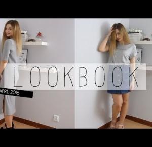 MINI LOOKBOOK KWIECIEŃ ♥ | szara sukienka i dżinsowa spódniczka | True Beauty is Internal