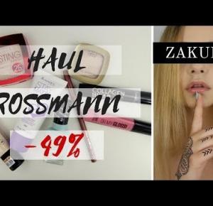 Haul  Rossmann -49%| Zakupy   Bloopers