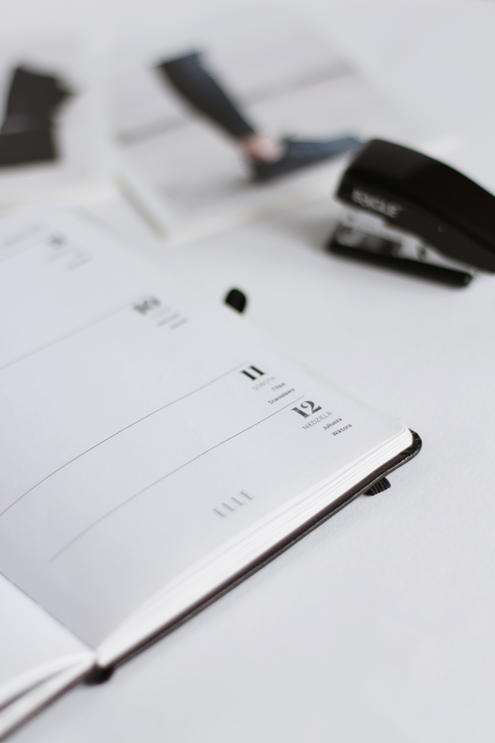 PATRYCJA PIANKOWSKA: ways to organize time