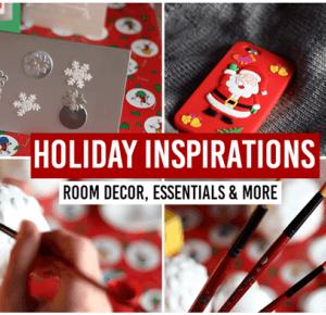 Patrycja Piankowska: VIDEO: HOLIDAY INSPIRATIONS: room decor, essentials