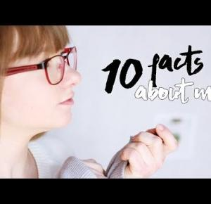 10 FACTS ABOUT ME // 10 faktów o mnie