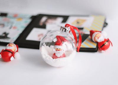 PATRYCJA PIANKOWSKA: DIY: santa claus in bauble