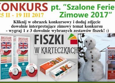 Podróże Dwóch Włóczykijów  ~  Two Gadabouts' Journeys: Regulamin Fotograficznego Konkursu Zimowego pt.