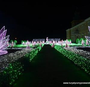 Podróże Dwóch Włóczykijów: Królewski Ogród Światła w Parku wilanowskim - zimowa feeria barw, którą warto zobaczyć! :) [Royal Garden Lights in the Wilanow Park - Winter blaze of color, which is worth s