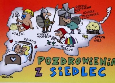 Recenzja przewodnika turystycznego po mieście Siedlce z humorystycznymi obrazkami :)