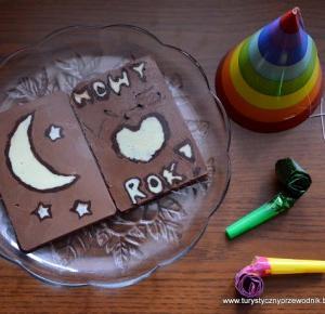 Podróże Dwóch Włóczykijów  ~  Two Gadabouts' Journeys: Chocolate Picture Maker - recenzja noworoczna, czyli o tym, jak Włóczykije świętowali Nowy Rok! :) [Chocolate Picture Maker Review]