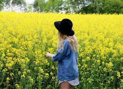 twinslife.pl: Denim jacket in flowers