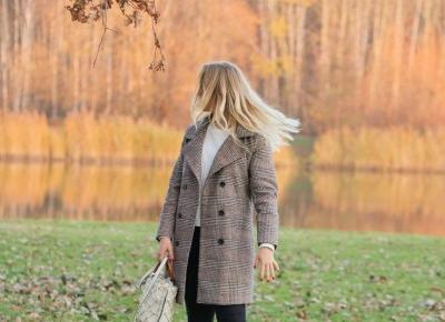 twinslife.pl: Idealny płaszcz w kratę na jesień!