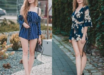 UNCARO: JAMPSUITS | FLOWERS VS STRIPES