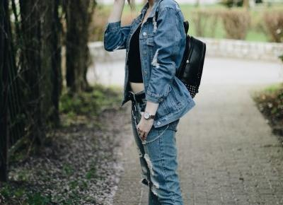 UNCARO: TOTAL DENIM LOOK.