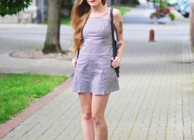 UNCARO: Gingham dress