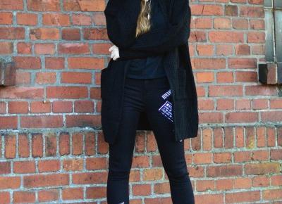UNCARO: Street Style: Total black