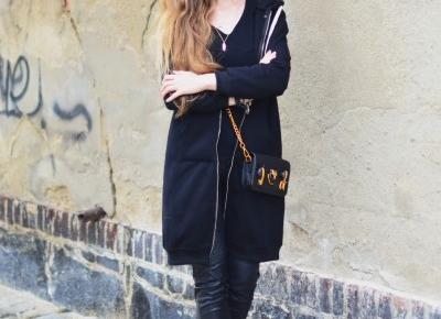 UNCARO: Street Style: Long hoodie