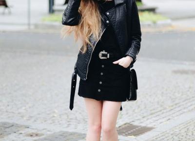 UNCARO: Street Style: Black & velvet boots