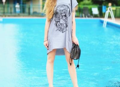 UNCARO: T-shirt dress