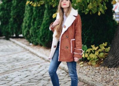 UNCARO: Street Style: Suede coat