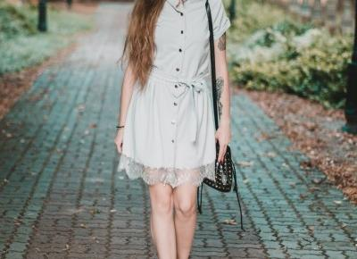 UNCARO: HELLO SEPTEMBER | GRAY DRESS