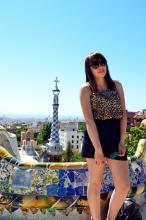 Valentine Marie Rose: Barcelona- outfit