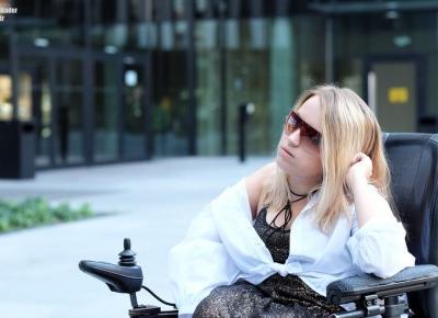 Stylizacja z cekinami i białą koszulą na co dzień - Blog o modzie - Sylwia VAMPPIV Błach