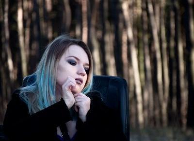 Wieczorowa suknia z koronki w gotyckiej stylizacji - Blog o modzie - Sylwia VAMPPIV Błach