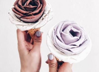 #icecreamflower - lody w kształcie róży