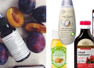 TOP 10 olejków do włosów z apteki