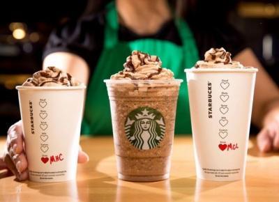 Starbuck wprowadza walentynkową ofertę kaw