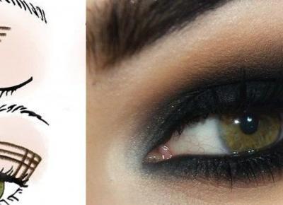 Zawsze perfekcyjne smokey eyes dzięki łatwemu trikowi z krzyżykiem