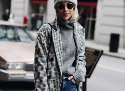 #InsightINSTA: zimowe stylizacje - Moda - ELLE.pl - trendy jesień zima 2016 2017