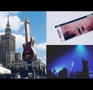 DAILY VLOG: KONCERT HURTS SURRENDER TOUR WARSZAWA | vanilla and white