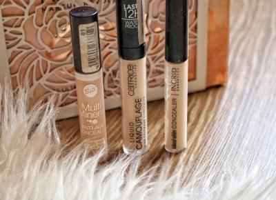 Tanie i dobre korektory pod oczy  | vanilliowynotes.pl | Blog modowy recenzje kosmetyków lifestyle