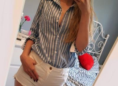 Koszula w paski | Shein | Vanillia